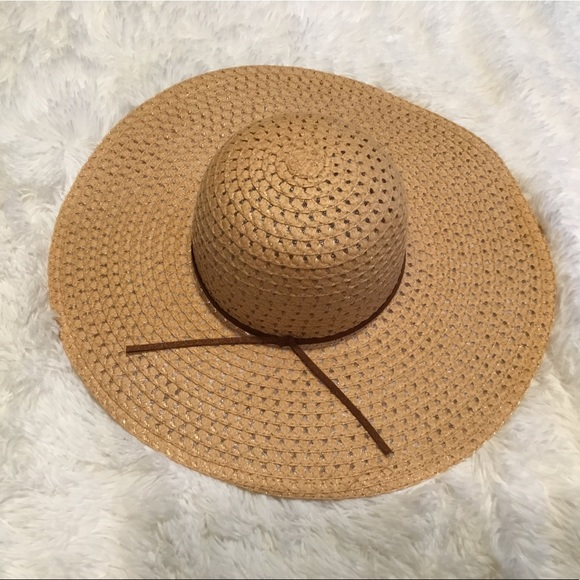 2bfd07f8a0f914 Accessories | Nwot Tan Floppy Hat | Poshmark